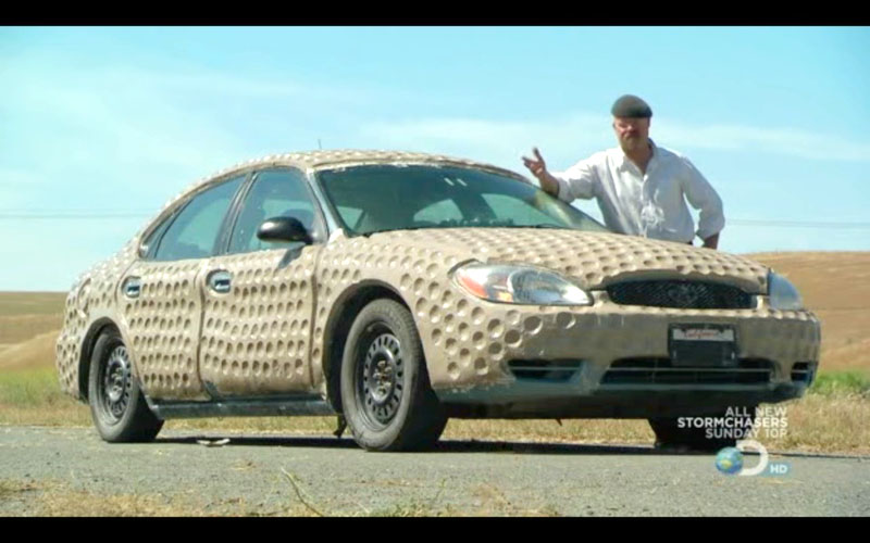 They Used Modeling Clay On The Exterior Then A I Believe Like Tennis Ball To Press Into Make Dimple Added 800lbs