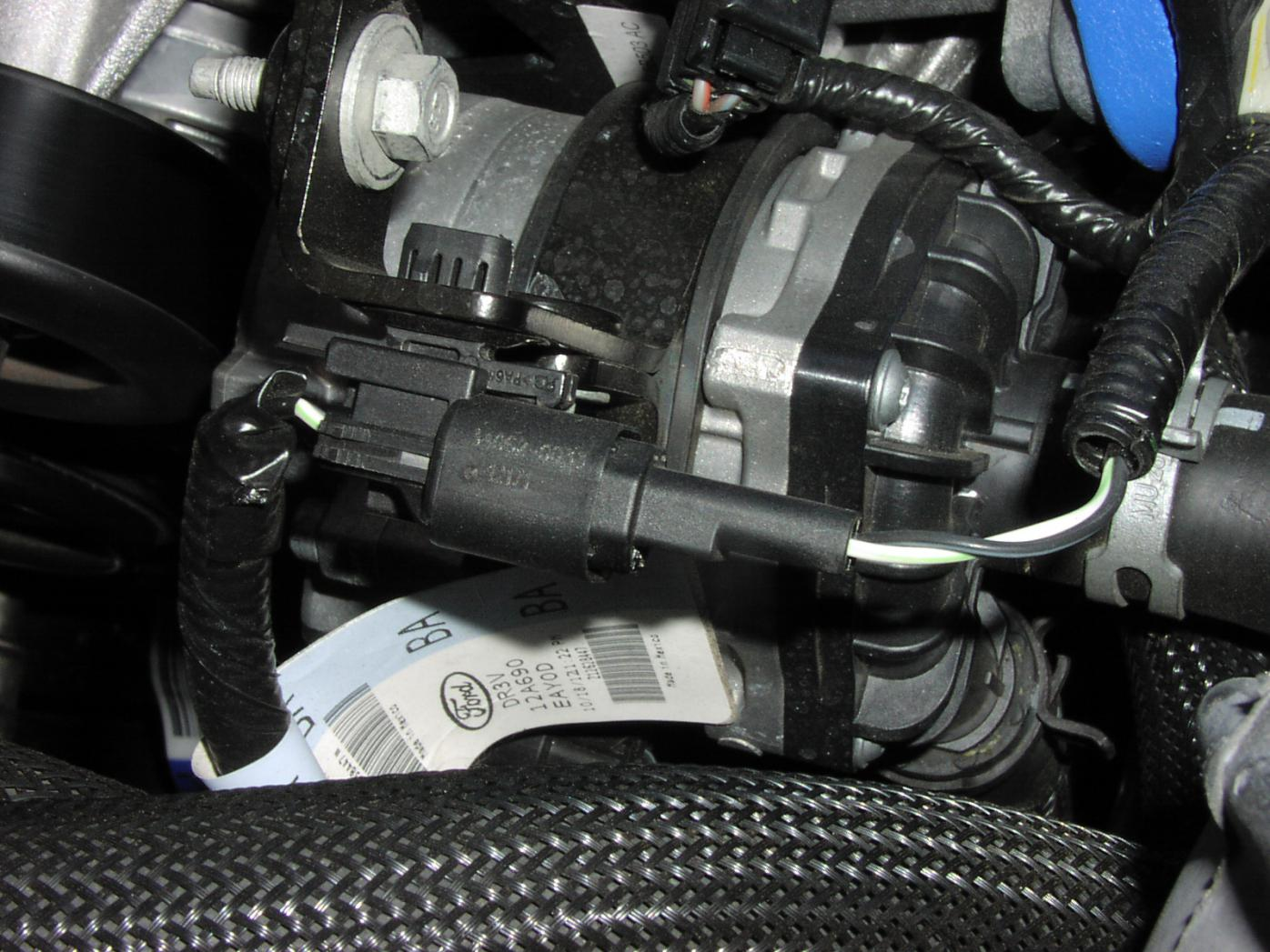Anyone Got A 2013 IC Water Pump Pigtail??? | Ford Shelby GT500 Forum