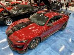 2020 GT500 CFTP Rapid Red/black painted stripes