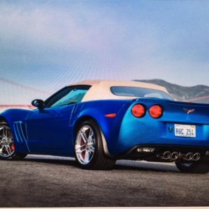 2008 Corvette with widebody kit added.